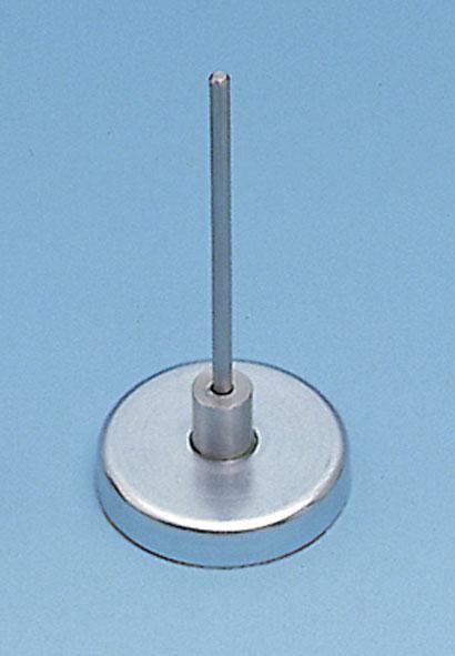 Embase aimantée avec axe de 4 mm