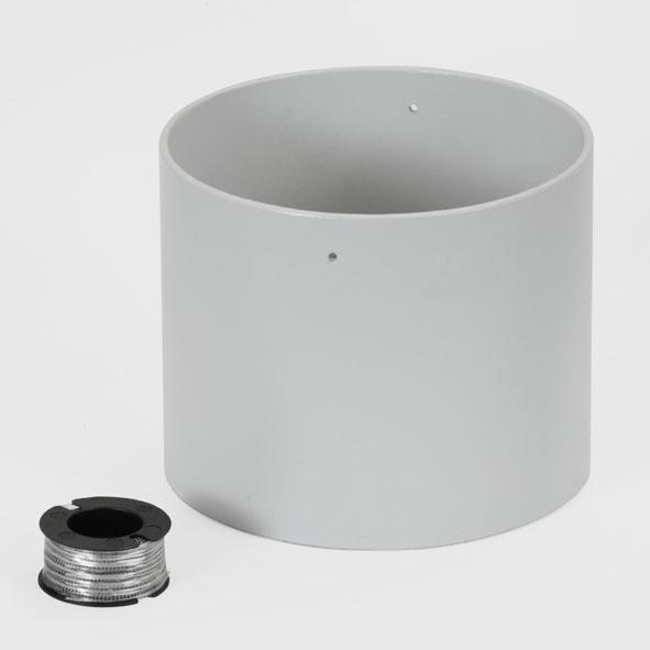 Tube cylindrique pour le frottement visqueux
