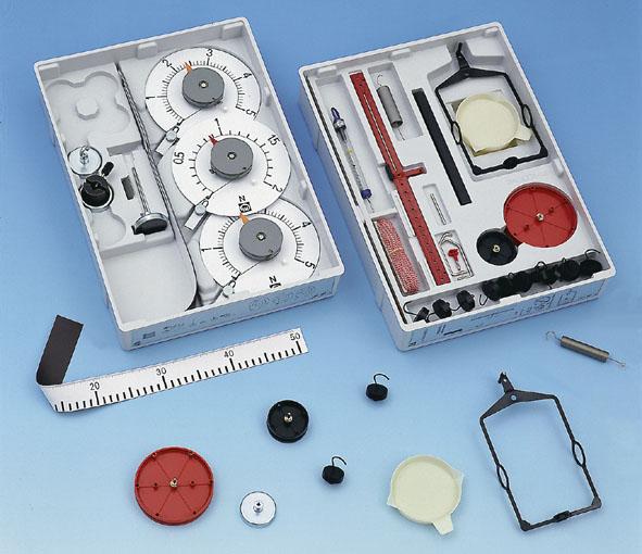 Expériences de démonstration en mécanique, équipement de base