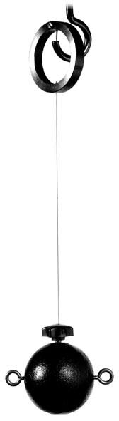Sphère à suspension pour pendule