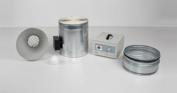 Ventilateur aspirant/refoulant