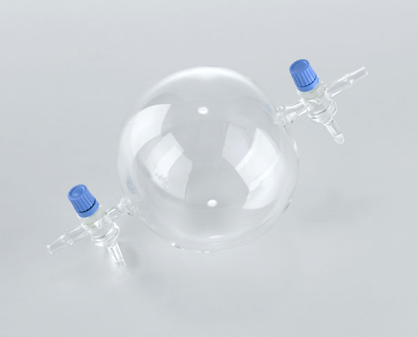 Sphère à 2 robinets (sphère de pesée gazeuse)