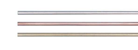 Tiges métalliques, 1,5 m, jeu de 3