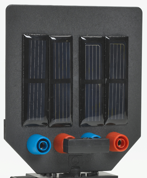 Panneau solaire 2 V/150 mA sur écran