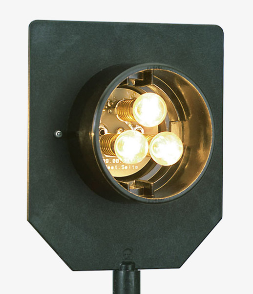 Lampe à 3 ampoules, 12 V/3 x 6 W