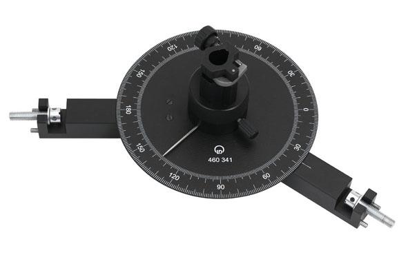 Charnière rotative avec échelle