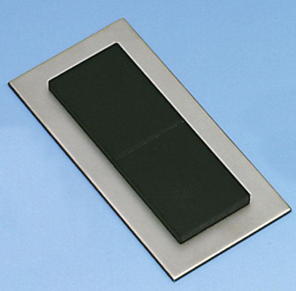Miroirs de Fresnel sur plaque