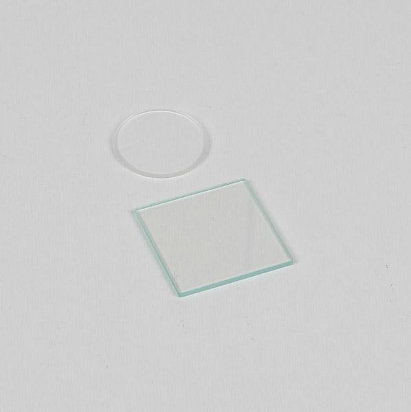 Plaque et lentille pour anneaux de Newton