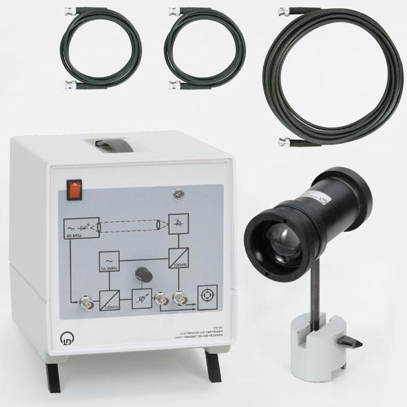 Émetteur et récepteur de lumière