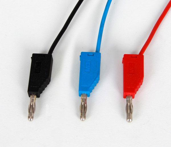 Câbles d'expérimentation, 19 A, jeu de 10