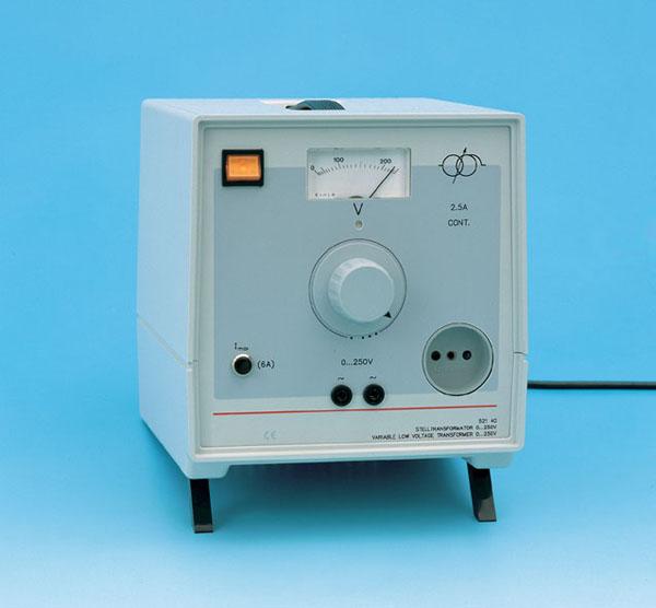 Transformateur variable, 0 ... 250 V