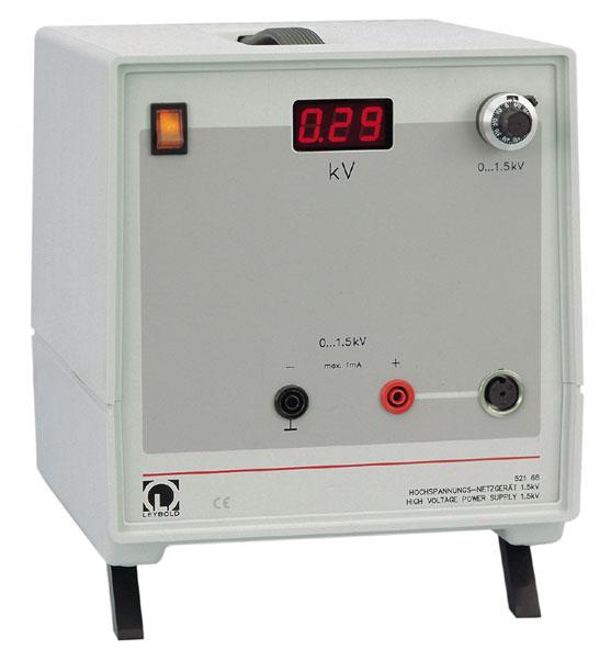 Alimentation haute tension 1,5 kV