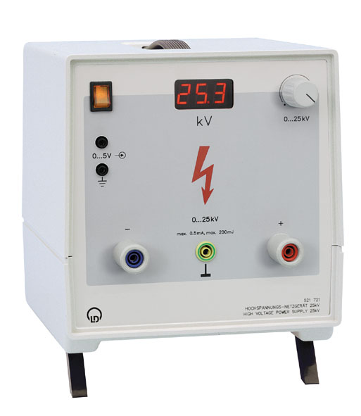 Alimentation haute tension 25 kV