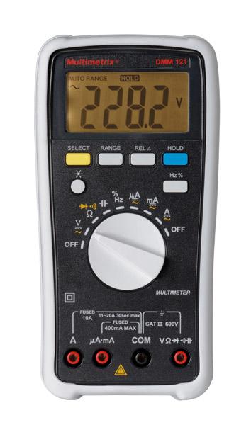 Multimètre numérique DMM 121