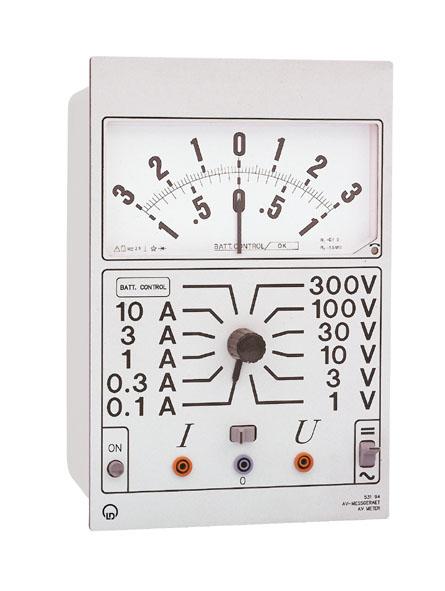 Ampèremètre-voltmètre