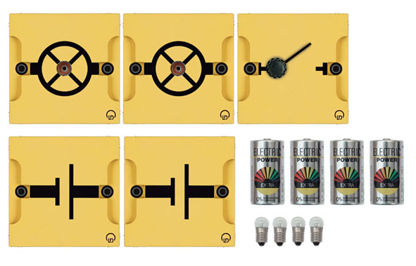 Circuit électrique simple, collection de base BST