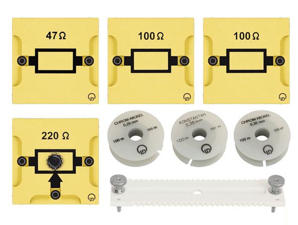 Résistance électrique, collection complémentaire BST