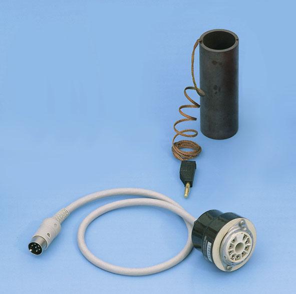 Douille de connexion pour tube de Franck-Hertz au mercure, connecteur DIN