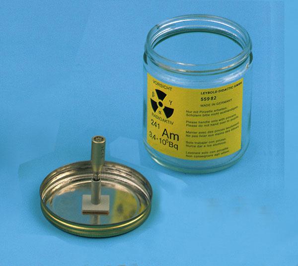 Préparation d'américium 241, 330 kBq
