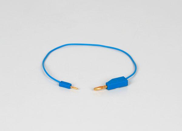 Câbles adaptateurs de 2-/4 mm, 30 cm, bleus, jeu de 5