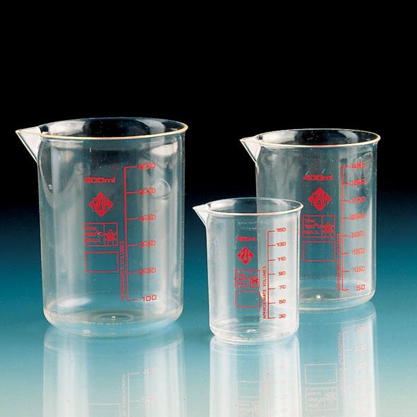 Bécher fome haute, 50ml Plastique (TPX)