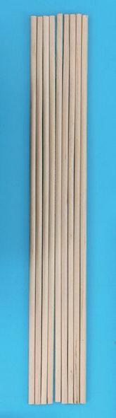 Bâtonnet en bois, lot de 10