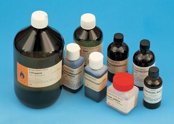 Colorants chimiques pour la microscopie