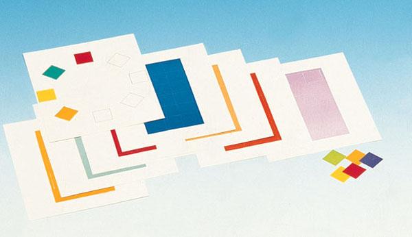 Cartes colorées
