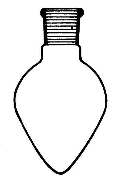 Ballon piriforme, boro 3.3, 25 ml, RN 19/26