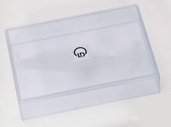 Couvercle transparent, PVC