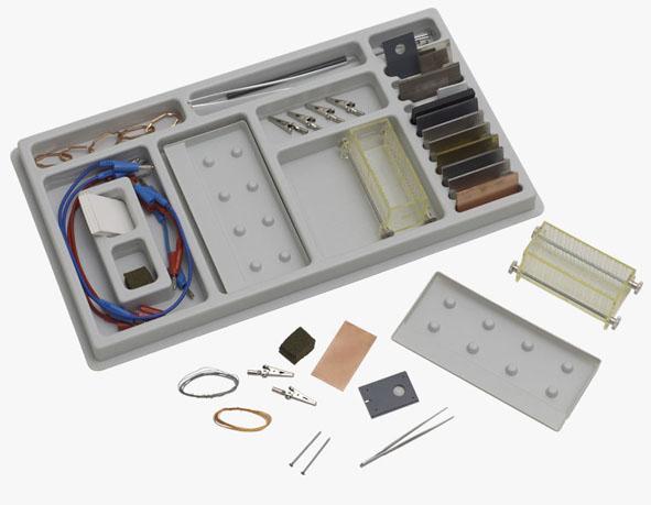 Électrochimie, jeu d'accessoires