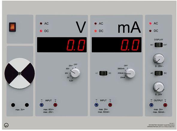 Appareil de démonstration Électrochimie, CPS