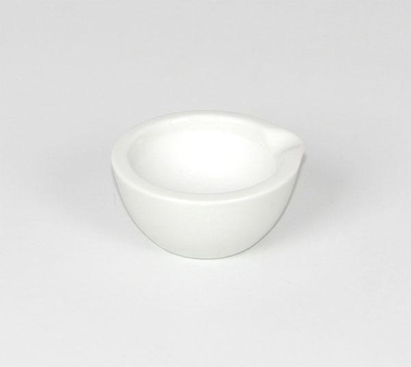 Mortier en porcelaine 70 mm Ø