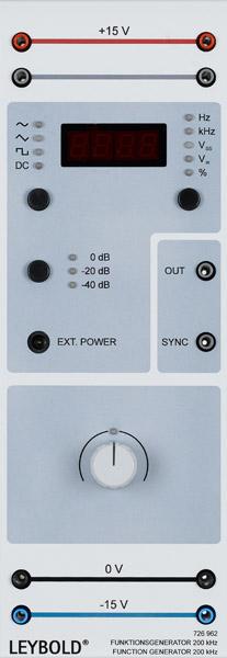 Générateur de fonctions 200 kHz