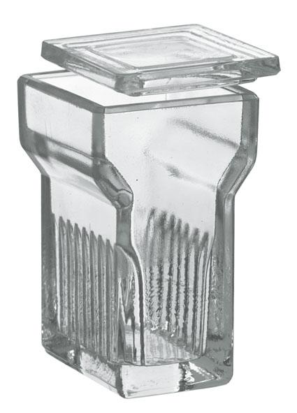 Cuve pour lames porte-objets de Hellendahl
