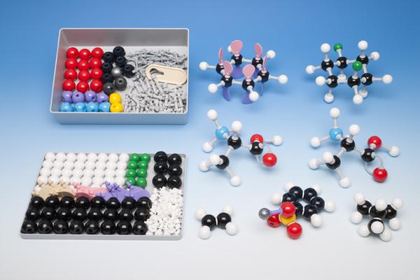 Coffret modèles moléculaires pour la chimie organique, pour l'enseignant