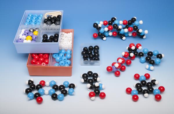 Coffret modèles moléculaires pour la biochimie, pour l'enseignant