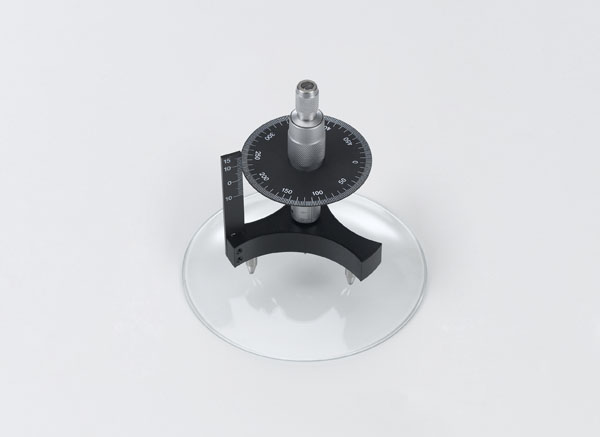 Emploi d'un sphéromètre pour la détermination des rayons de courbure