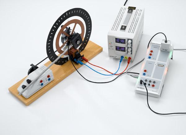 Oscillations de torsion libres - tracé avec CASSY