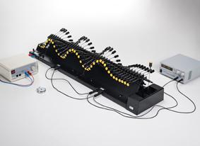 Longueur d'onde, fréquence d'oscillation et vitesse de phase pour des ondes progressives