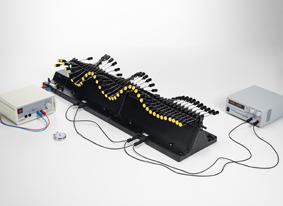 Longueur d'onde et fréquence d'oscillation pour des ondes stationnaires