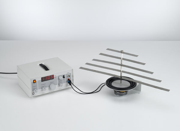 Etude des vibrations de résonance sur le modèle de ressort à lame et la détermination de la longueur d'onde