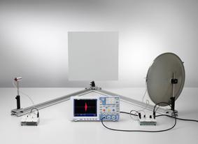 Réflexion des ondes ultrasonores planes sur une surface plane