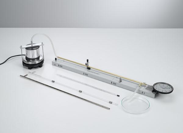 Dilatation thermique des solides - mesure avec le pyromètre à cadran