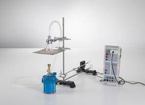 Dilatation thermique des solides - tracé et évaluation CASSY