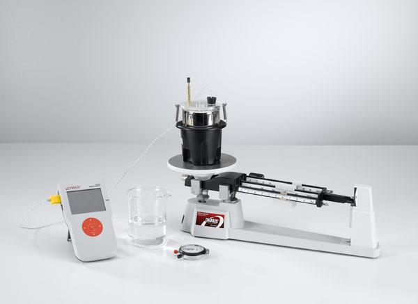 Mesure de température d'un mélange d'eau - Mesure avec Mobile-CASSY