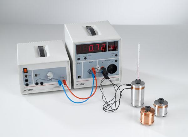 Transformation de l'énergie électrique en énergie thermique - mesure avec joulemètre et wattmètre