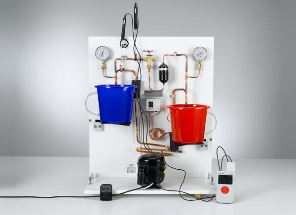 Etude du fonctionnement de la vanne de détente de la pompe à chaleur