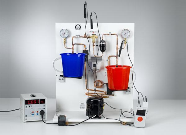 Analyse du cycle de la pompe à chaleur avec le diagramme de Mollier