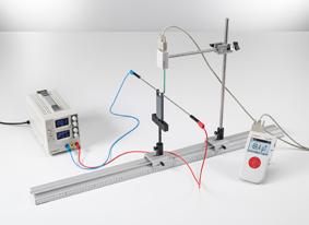 Mesure du champ magnétique sur un conducteur droit et sur des boucles conductrices à des courants faibles